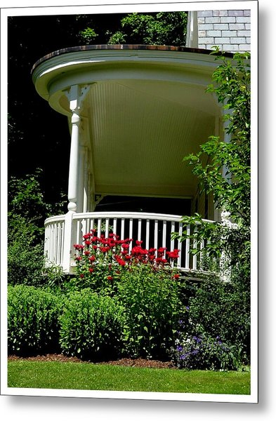 Front Porch Of Millers House Metal Print