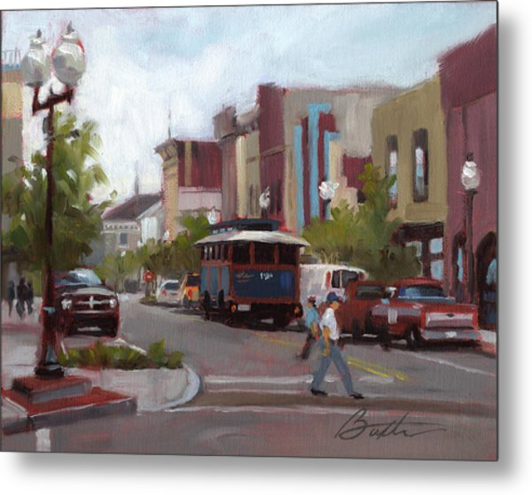 Front Street Metal Print by Todd Baxter