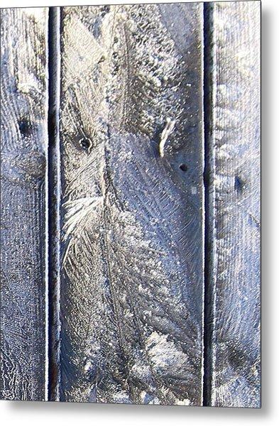 Frost Owl No01 Metal Print by Greta Thorsdottir