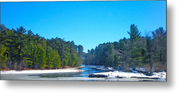 Frozen Wisconsin Metal Print