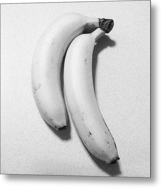 #fruit #banana #food #dessert #foodporn Metal Print