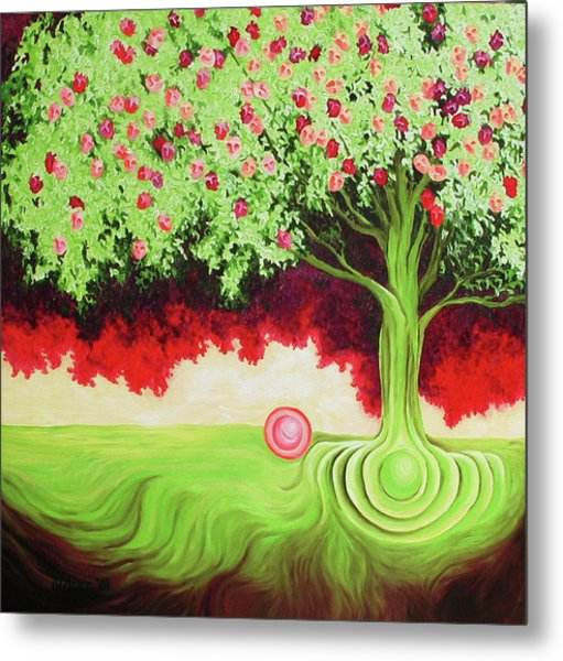 Fruit Tree Metal Print