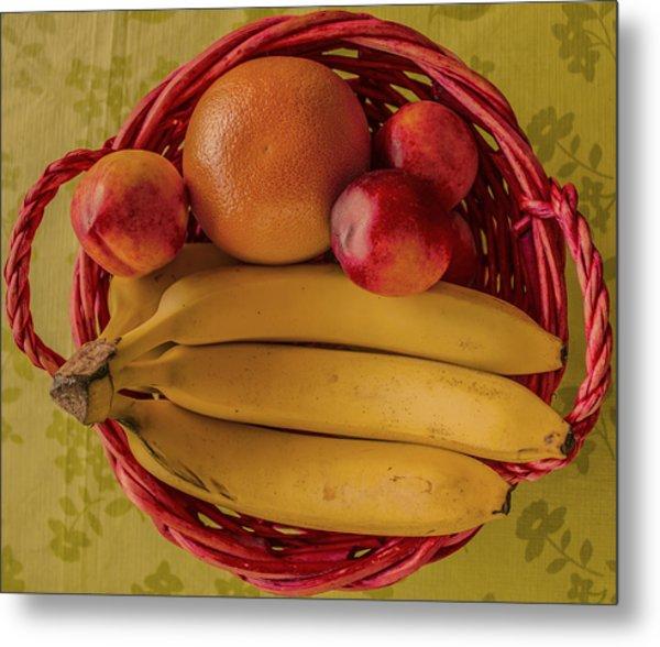 Fruits Metal Print by John Nasir
