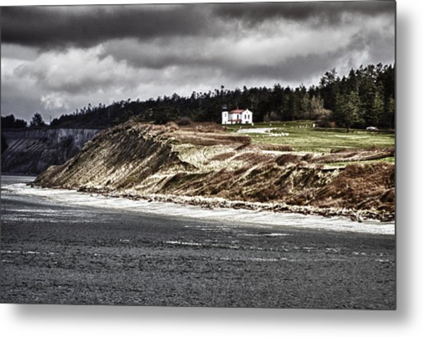 Ft Casey Lighthouse Metal Print
