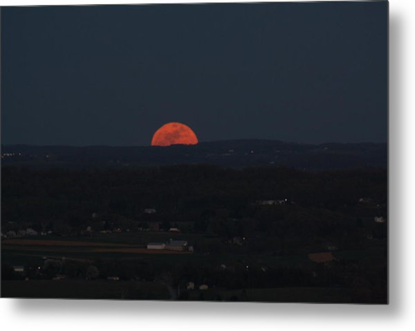 Full Moonrise Metal Print
