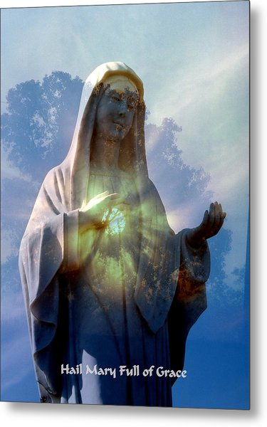 Full Of Grace Metal Print