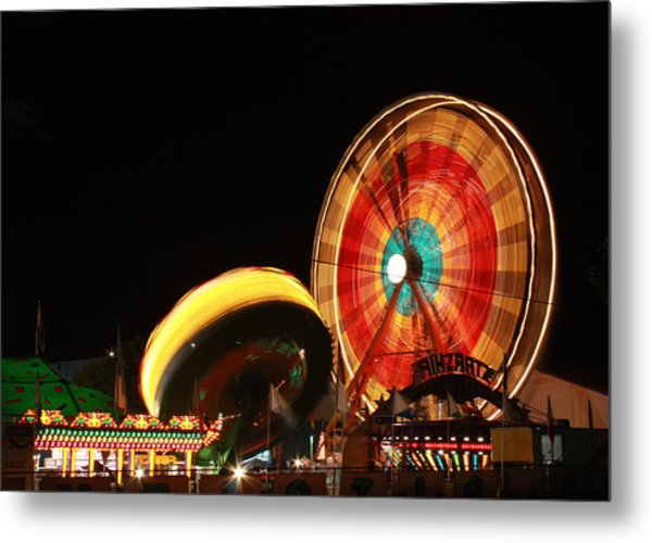 Fun At The Fair Metal Print