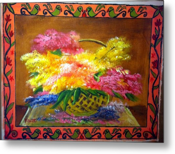 Fun With Colors Metal Print by M Bhatt