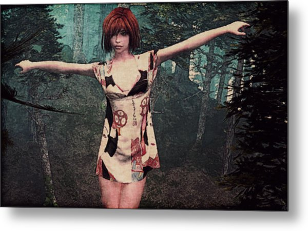Gaia Unearthed Metal Print