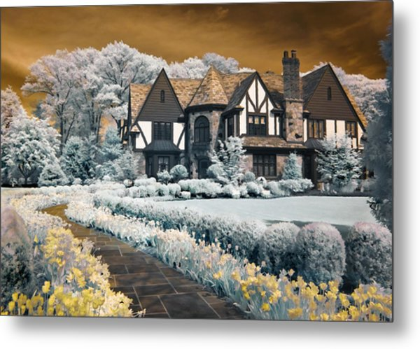 Garden City Tudor Metal Print