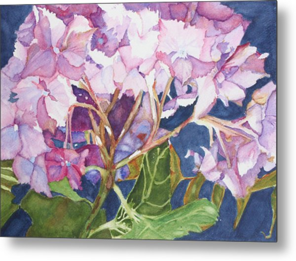 Garden Jewels Metal Print