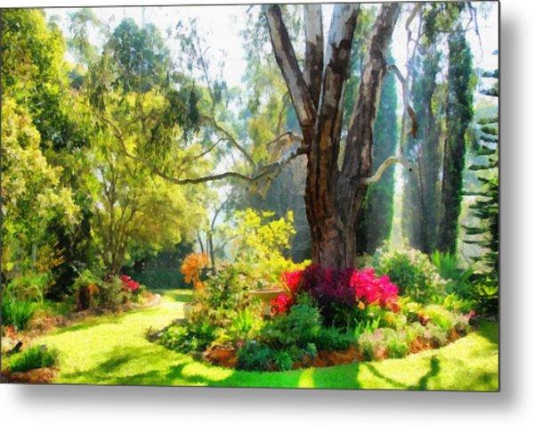Garden Sunlight 2 Metal Print