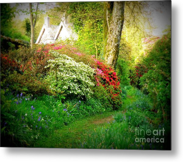 Gardens Of The Old Rectory Metal Print