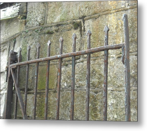 Gate Top  Metal Print