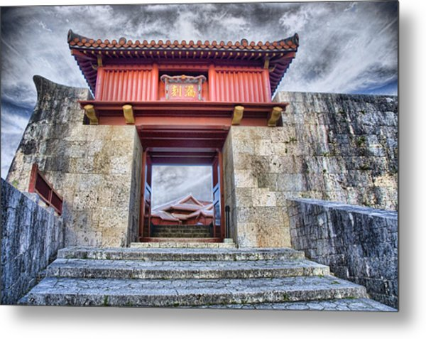 Gateway Metal Print by Karen Walzer