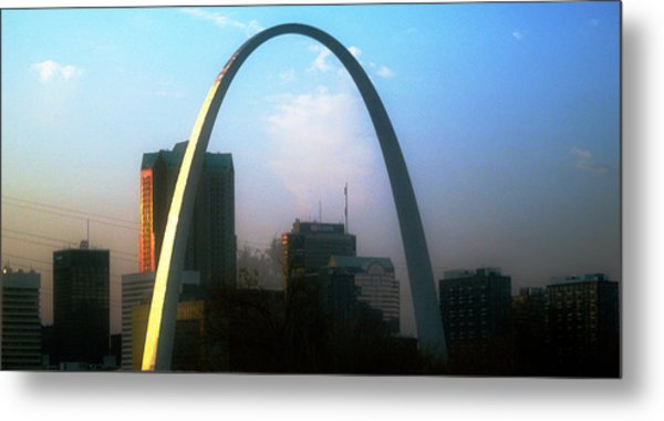 Gateway To The West 2 Metal Print
