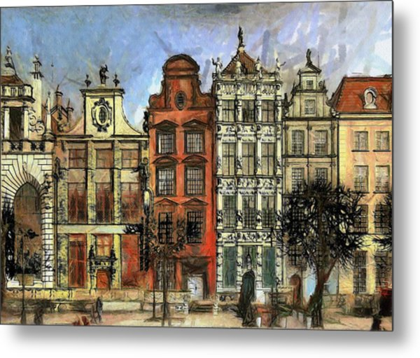 Gdansk Painting By Amarok A