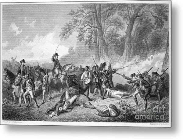 General Braddock: Death Metal Print