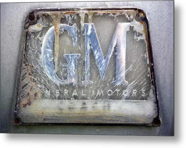 General Motors Metal Print by Luc Novovitch