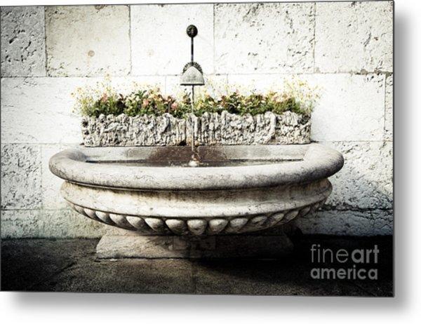 Geneva Fountain 2 Metal Print