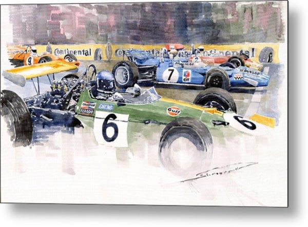 Germany Gp Nurburgring 1969 Metal Print