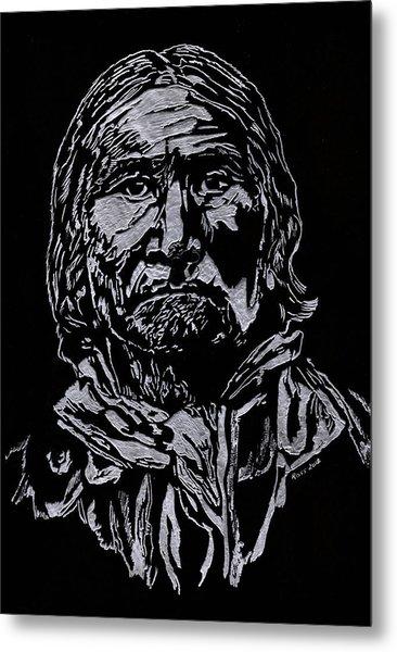 Geronimo Metal Print by Jim Ross