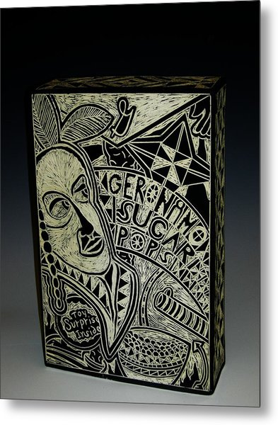 Geronimo Sugar Pops Metal Print by Ken McCollum