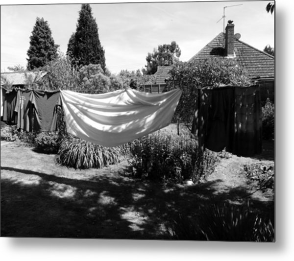 Ghost Of Laundry Past Metal Print