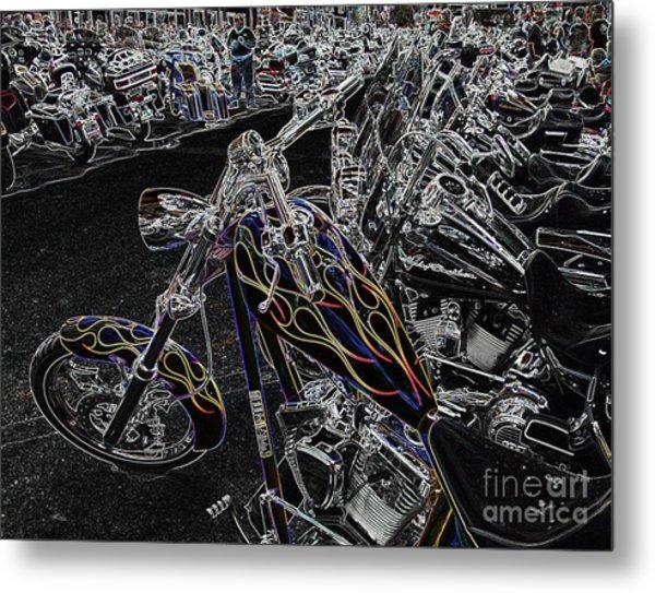Ghost Rider 2 Metal Print