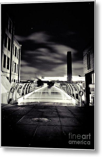 Ghosts In The City Metal Print