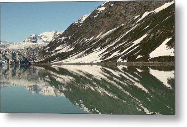 Glacier Receeding Metal Print