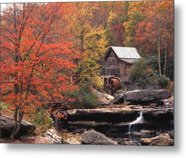 Glade Creek Grist Mill    Horizontal Metal Print