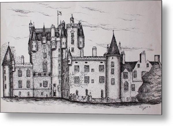 Glamis Castle Metal Print