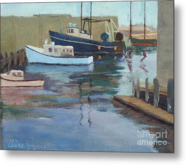 Gloucester Harbor Metal Print
