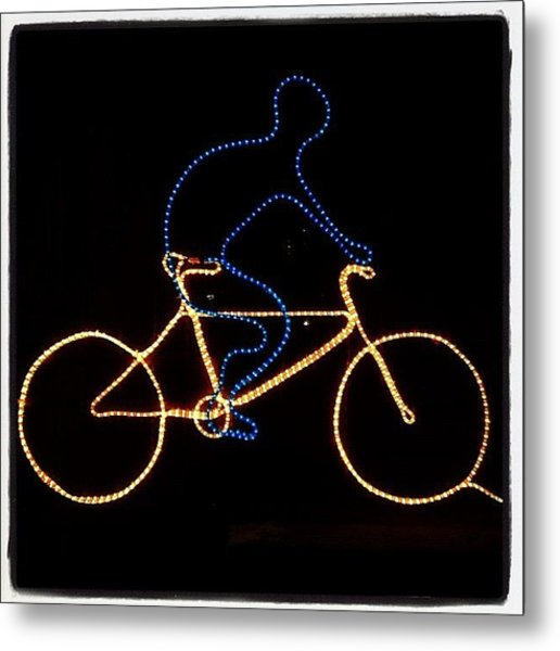 Go Cycle #bicycle #cycle #graceland25 Metal Print