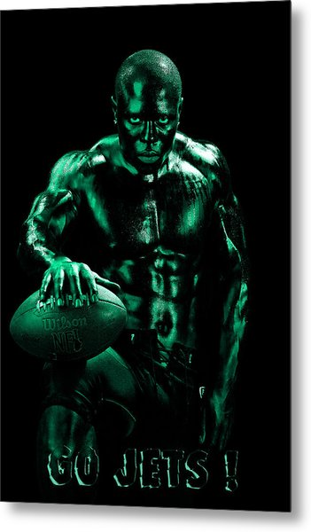 Go Jets Metal Print by Val Black Russian Tourchin