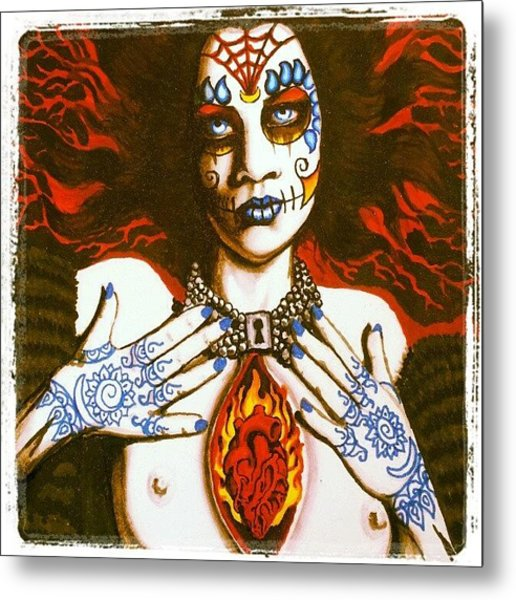 Goddess Of Desire Metal Print
