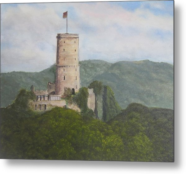 Godesburg Castle Metal Print by Heather Matthews