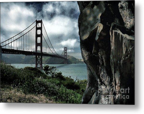 Golden Gate Bridge - 4 Metal Print