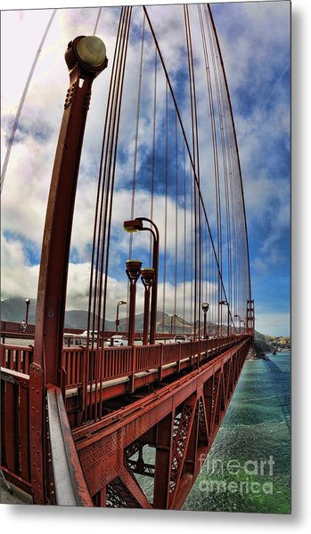Golden Gate Bridge - 7 Metal Print