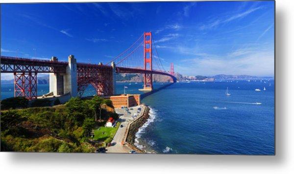 Golden Gate Bridge 1. Metal Print by Laszlo Rekasi