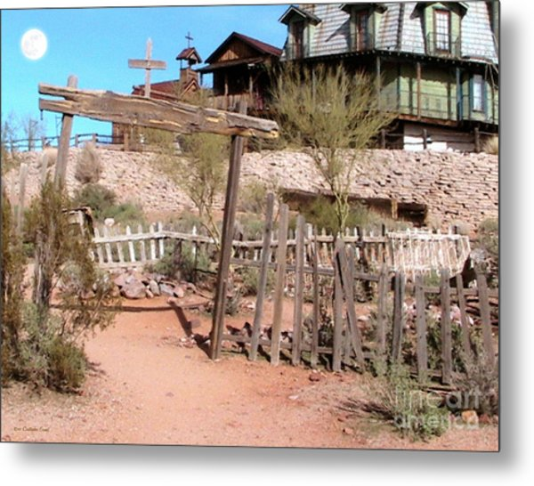Goldfield Ghost Town Metal Print by Cristophers Dream Artistry