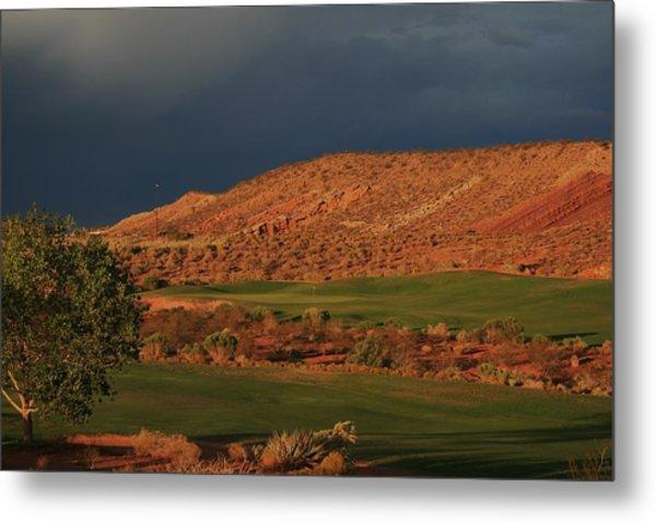 Golfers  Dream Metal Print