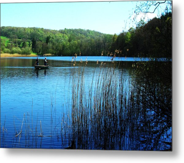 Gone Fishing Metal Print by Peter Jenkins