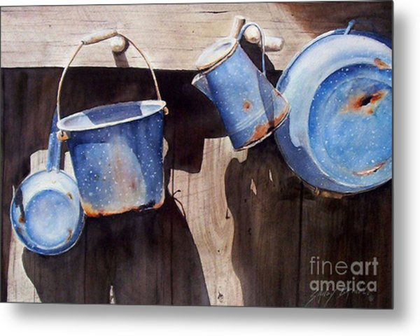 Gone To Pot...sold  Metal Print