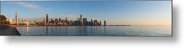 Good Morning Chicago Metal Print