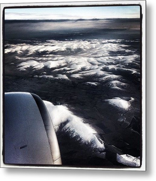 Goodbye Scotland #flight #scotland #air Metal Print