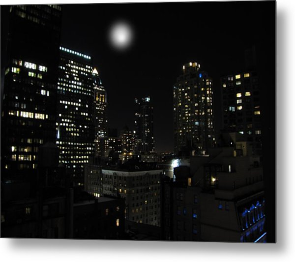 Gotham City Metal Print