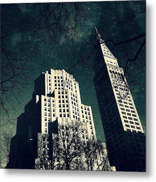 Gotham City Metlife Metal Print