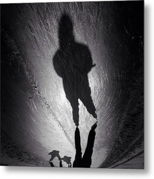 Gotta Love This Dutch Winter... #shadow Metal Print